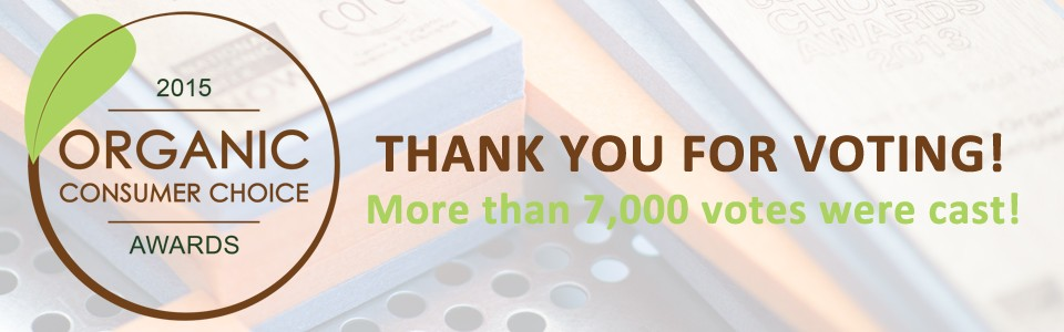 Thank you for voting - OCCA's 2015
