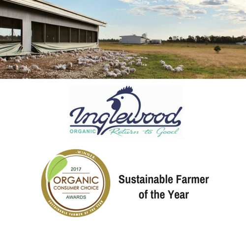 Winner - Sustainable Farmer of the Yr
